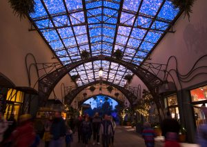 Panorama-Glasdach-Passage - Phantasialand, Brühl - Foto: MK Illumination, Peter Wieler